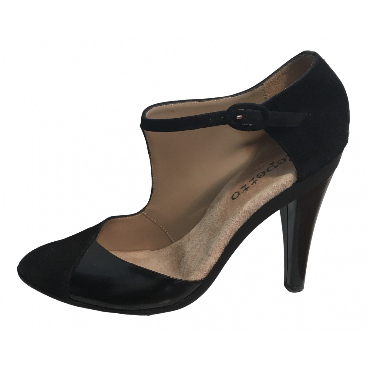 Repetto \N Black Suede Sandals for Women 40 EU