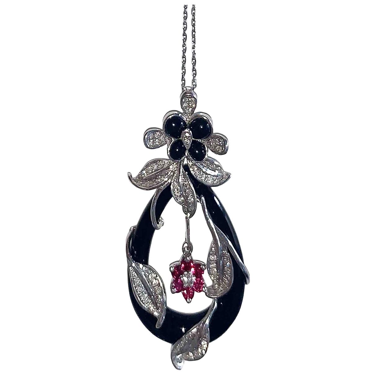 Eduard Kogen \N Black White gold pendant for Women \N
