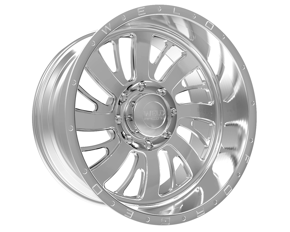 Weld Racing 81D3-24287-510R XT Falkata 24x12 8x170 -51mm Brushed w/Tinted Clear Smooth Lip