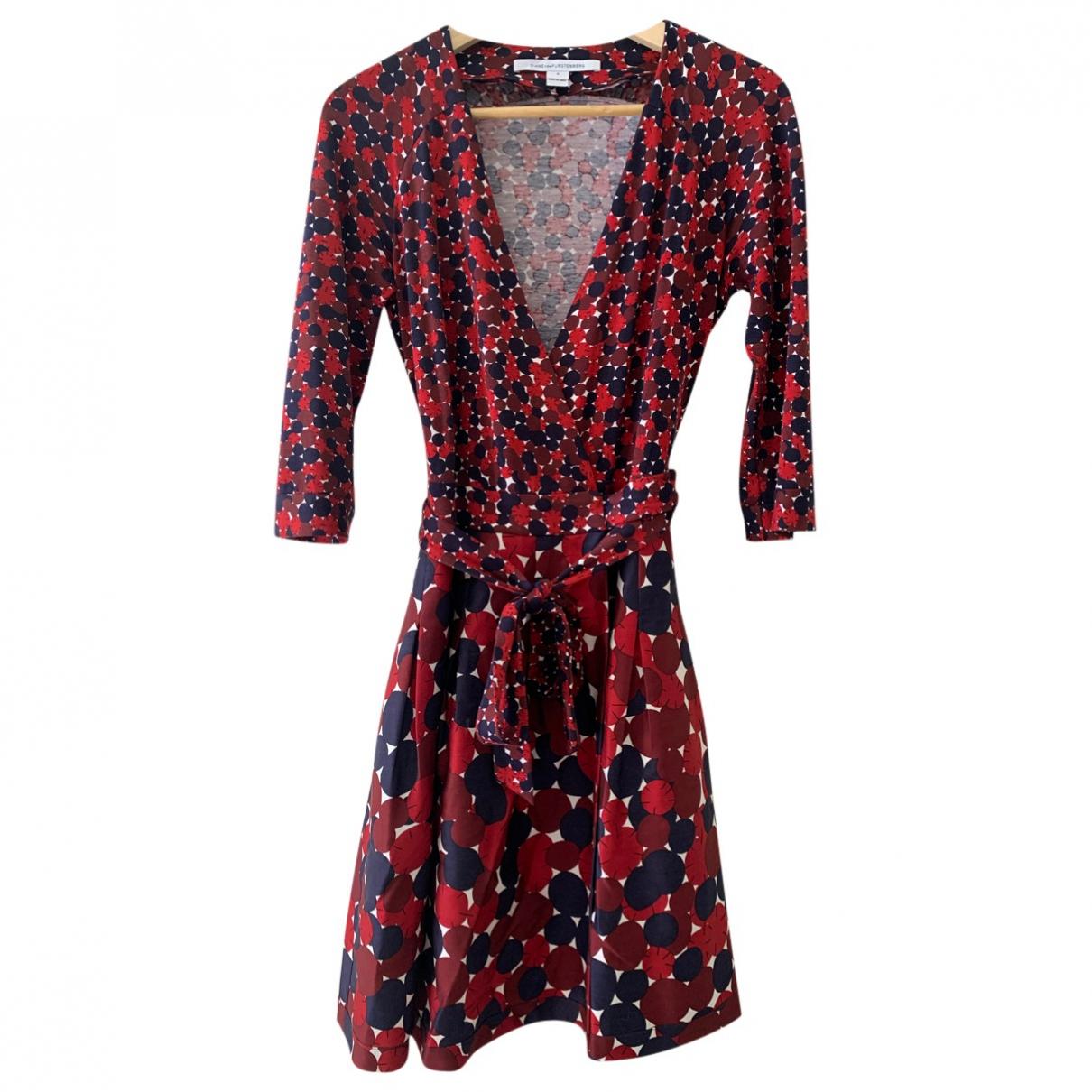 Diane Von Furstenberg \N Multicolour Silk dress for Women 8 UK