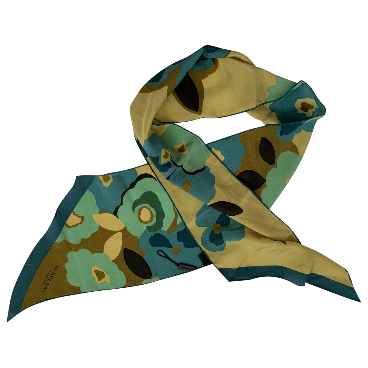 Burberry \N Multicolour Silk scarf for Women \N