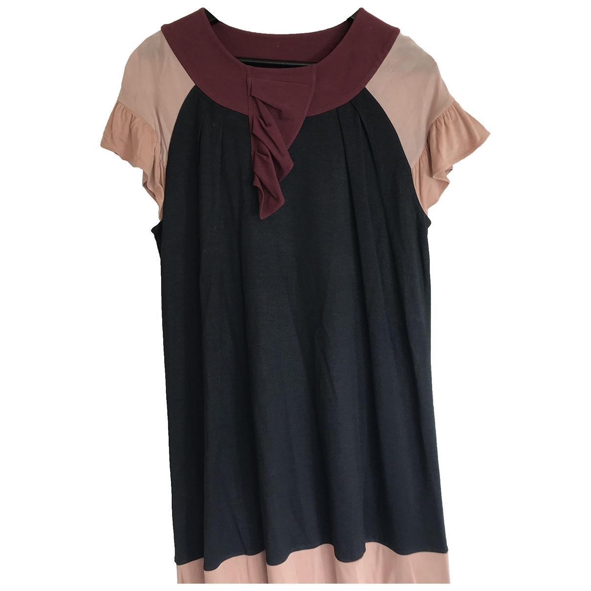Pringle Of Scotland \N Multicolour Silk dress for Women 12 UK