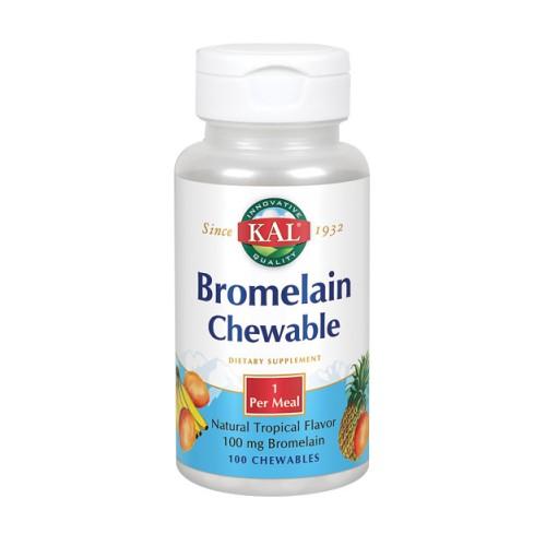 Bromelain 100 Chews by Kal