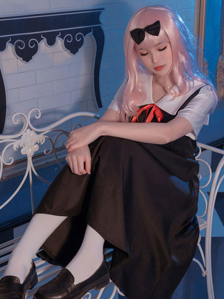 Milanoo Kaguya Sama Love Is War Shinomiya Kaguya Cosplay Costume