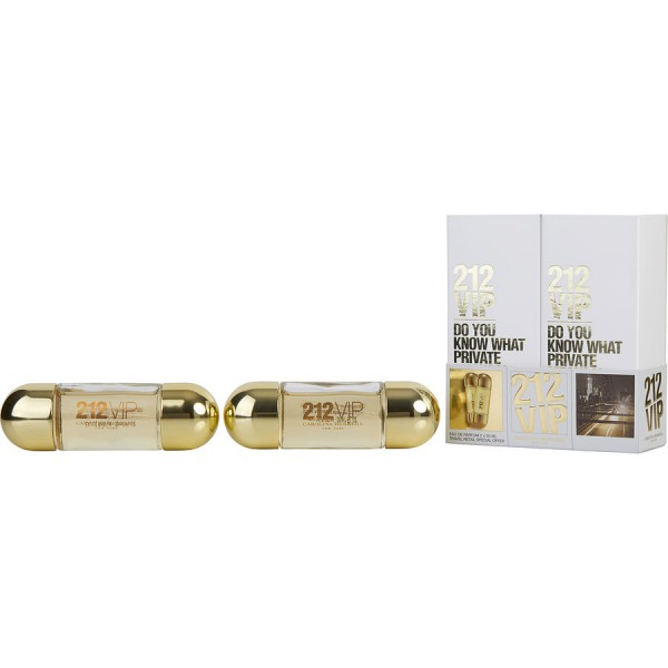 Carolina Herrera - 212 Vip : Gift Box Set 1 Oz / 30 ml