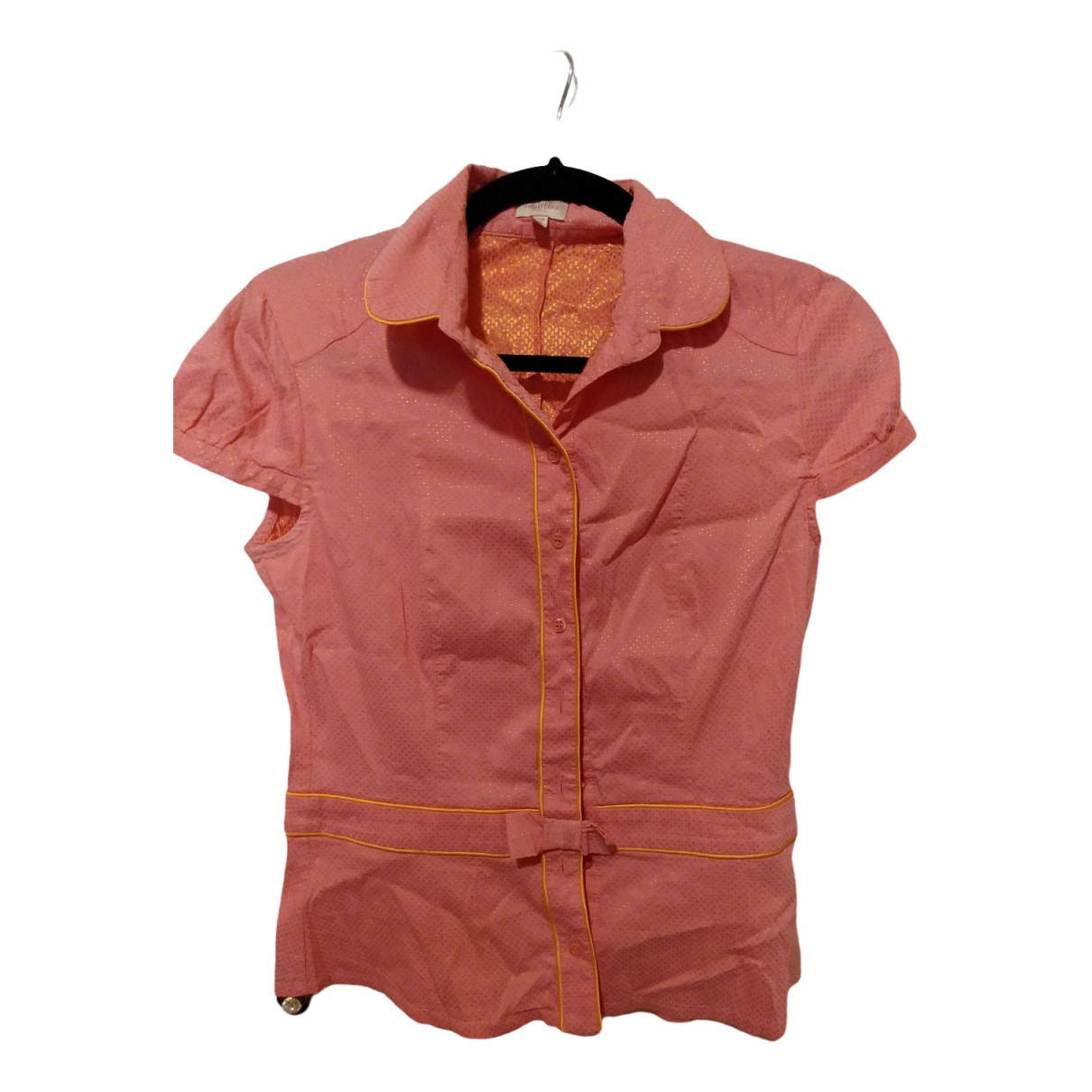 Whistles \N Pink Cotton  top for Women 6 US