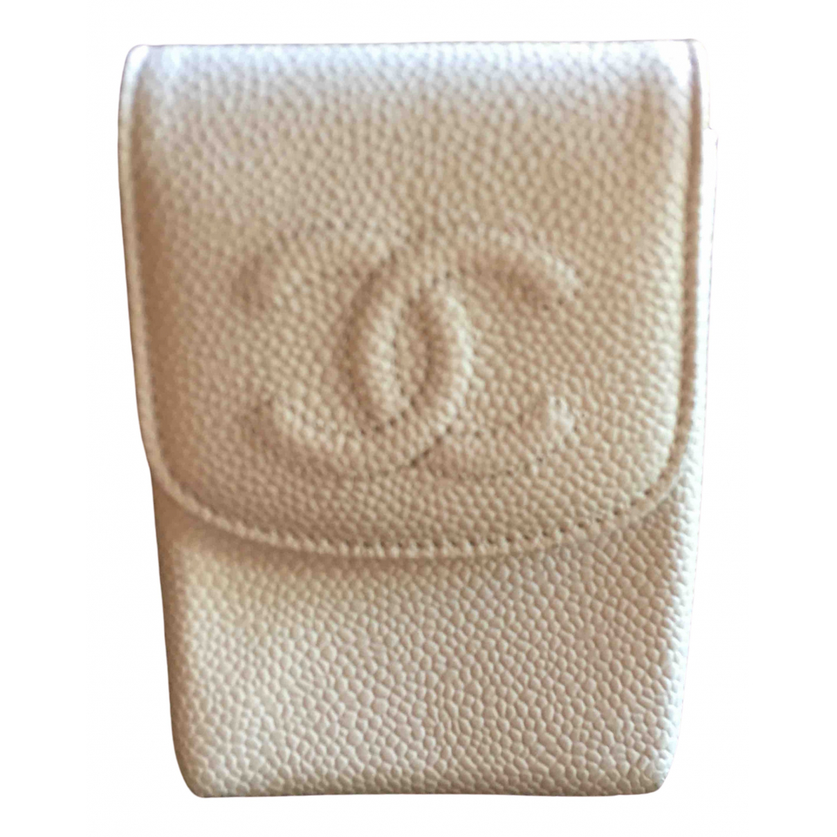 Chanel \N Green Leather Purses, wallet & cases for Women \N