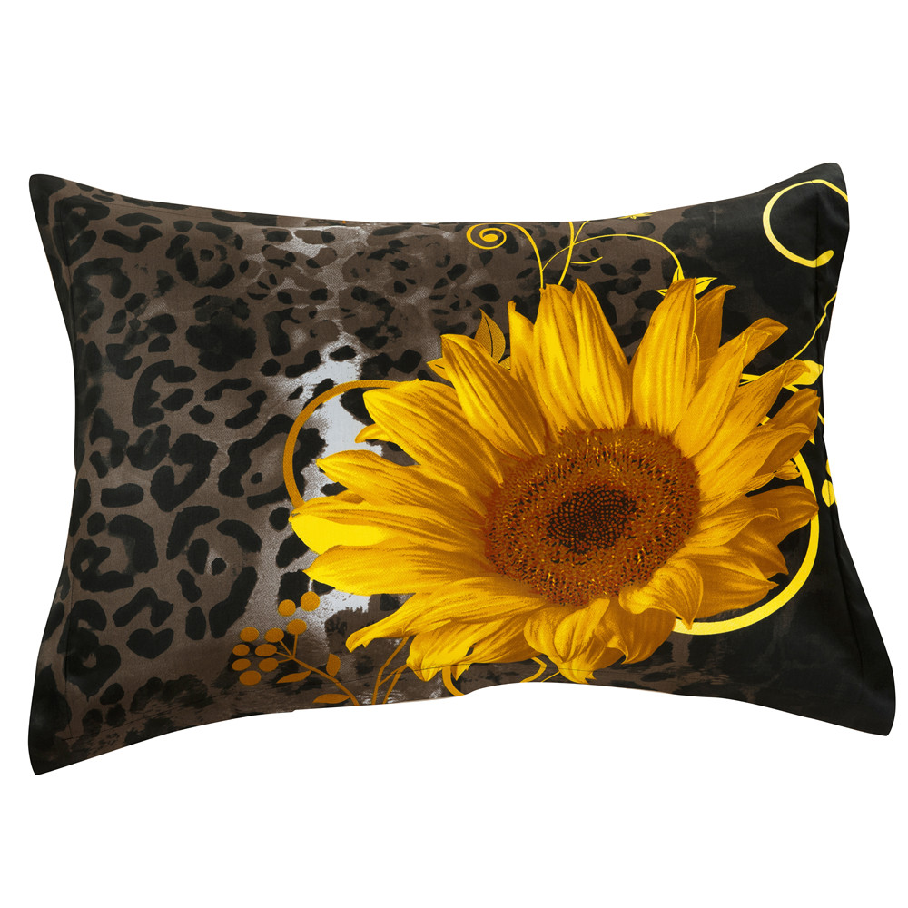 Gracious Lovely Sunflowers 2-Piece Pillowcases