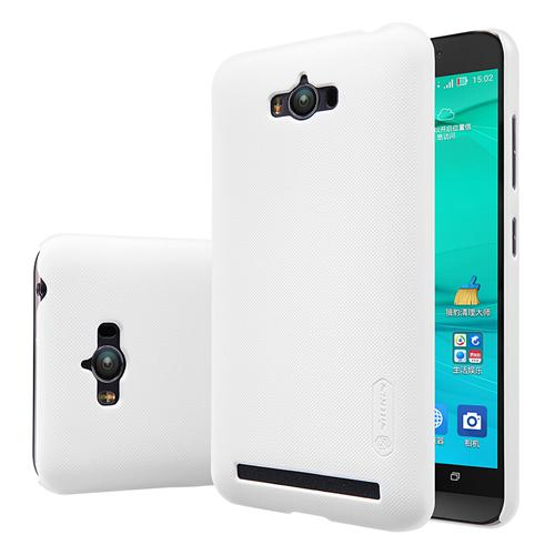 NILLKIN For Asus Zenfone Max/Zenfone Max Pro Frosted Shield Phone Case Protective Back Cover - White