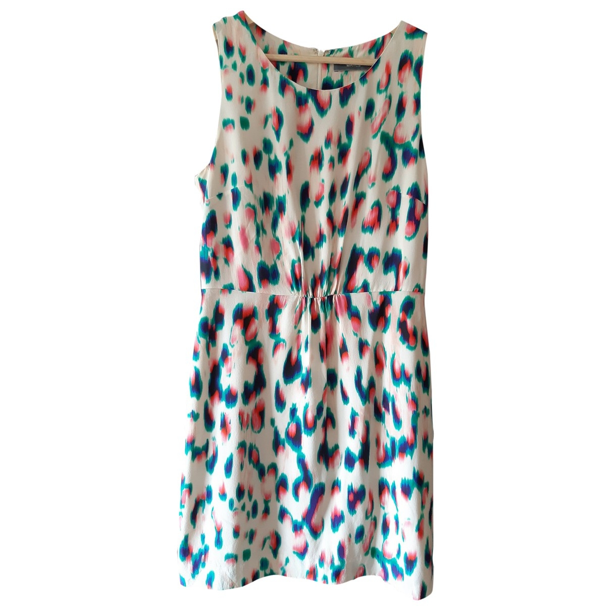 Non Signé / Unsigned \N Multicolour Silk dress for Women 10 UK
