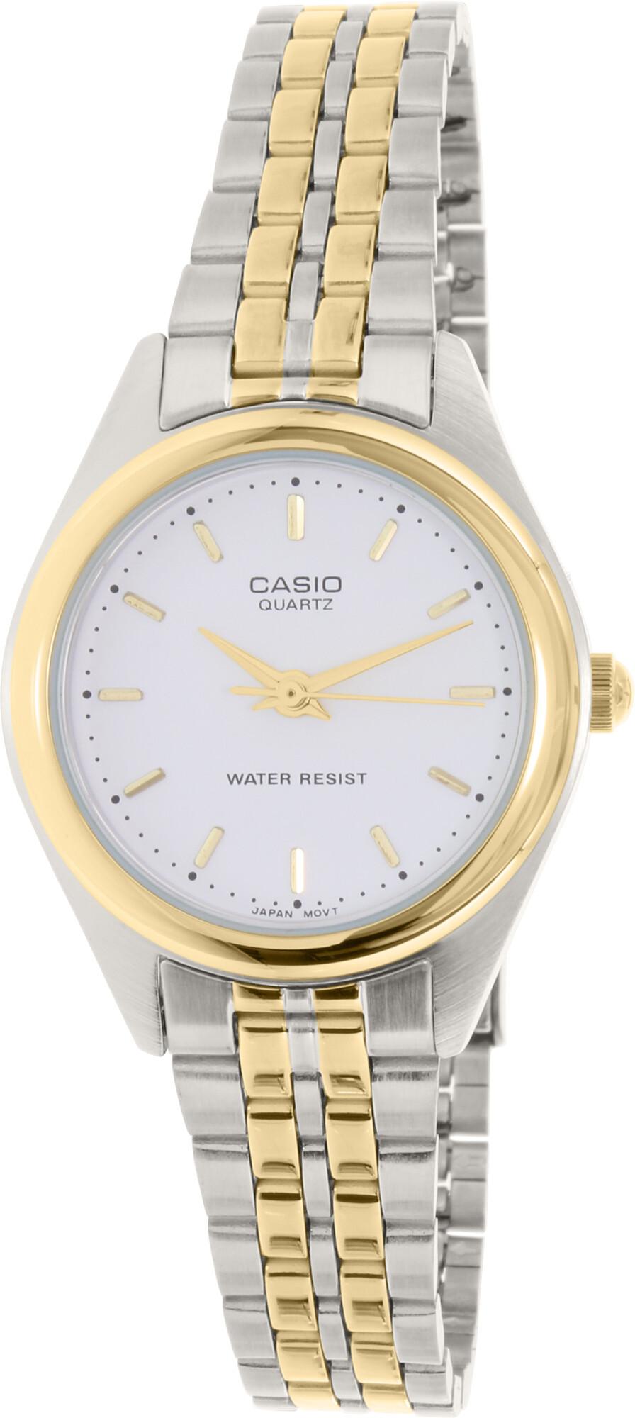 Casio Women's Core LTP1129G-7A Silver Stainless-Steel Japanese Quartz Dress Watch