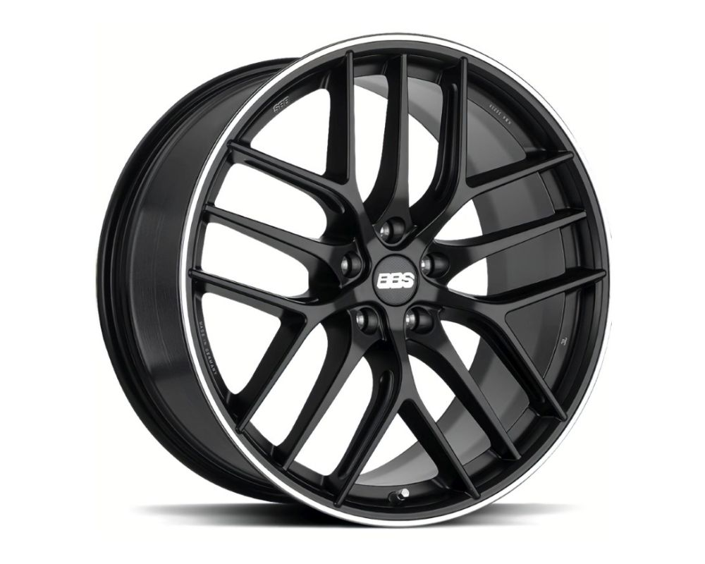BBS CC-R Wheel 20x9 5x112 38mm Black Center | Polished Rim