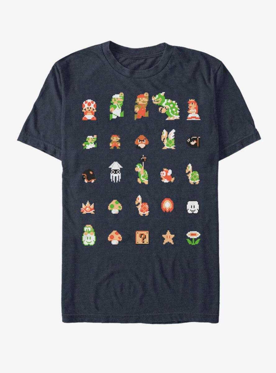 Nintendo Super Mario Cast T-Shirt