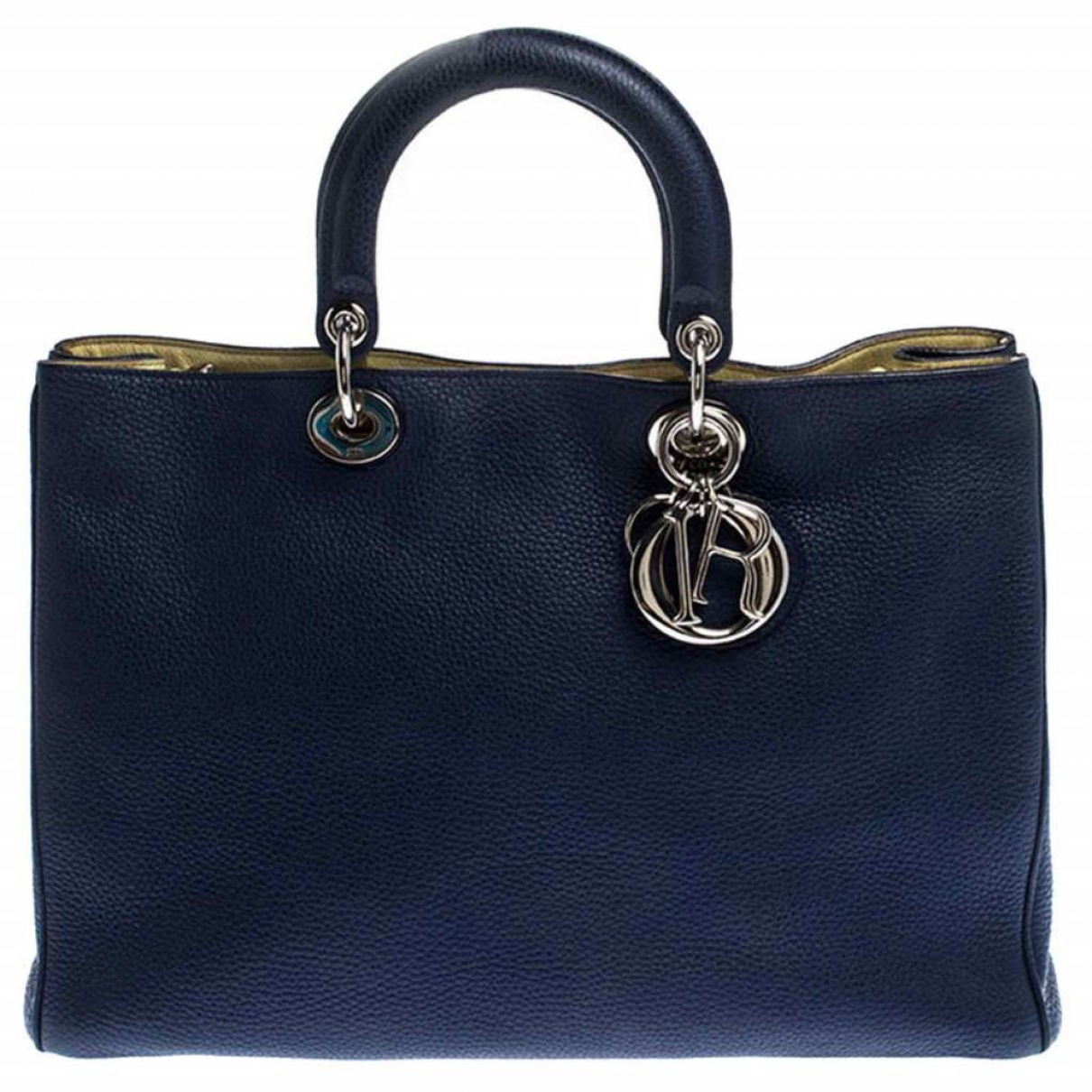 Dior Diorissimo Blue Leather handbag for Women \N