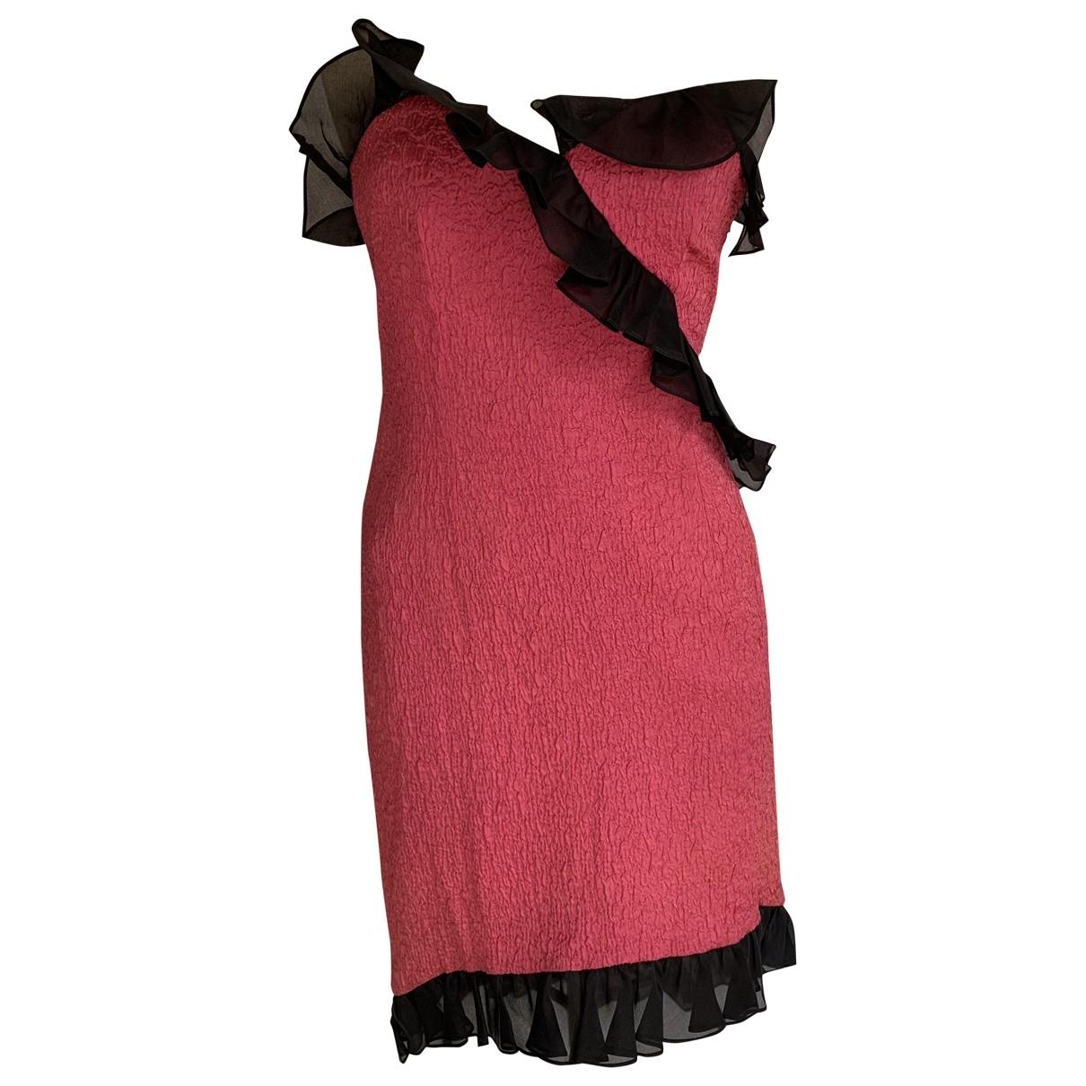 Saint Laurent \N Pink dress for Women 42 FR