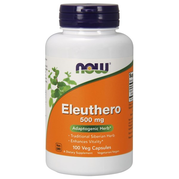 Eleuthero 100 Caps by Now Foods