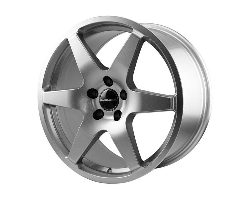 Velox Wheels 538002 Impulse Wheel 17x8 5x1150 40 SLGLXX Euro Silver