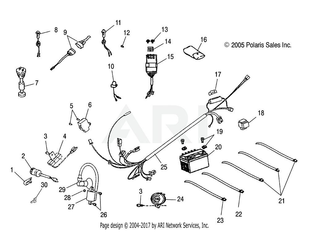 Polaris OEM 0452061 Regulator, Voltage