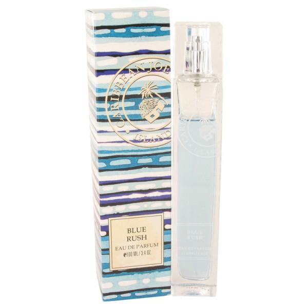 Caribbean Joe - Blue Rush : Eau de Parfum Spray 3.4 Oz / 100 ml