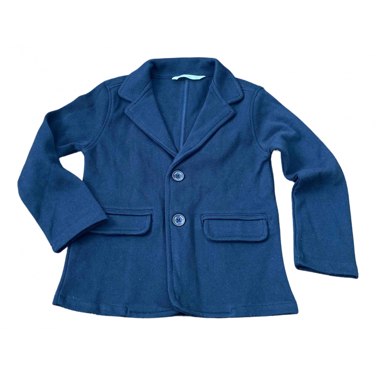 Mango \N Blue Cotton jacket & coat for Kids 6 years - until 45 inches UK