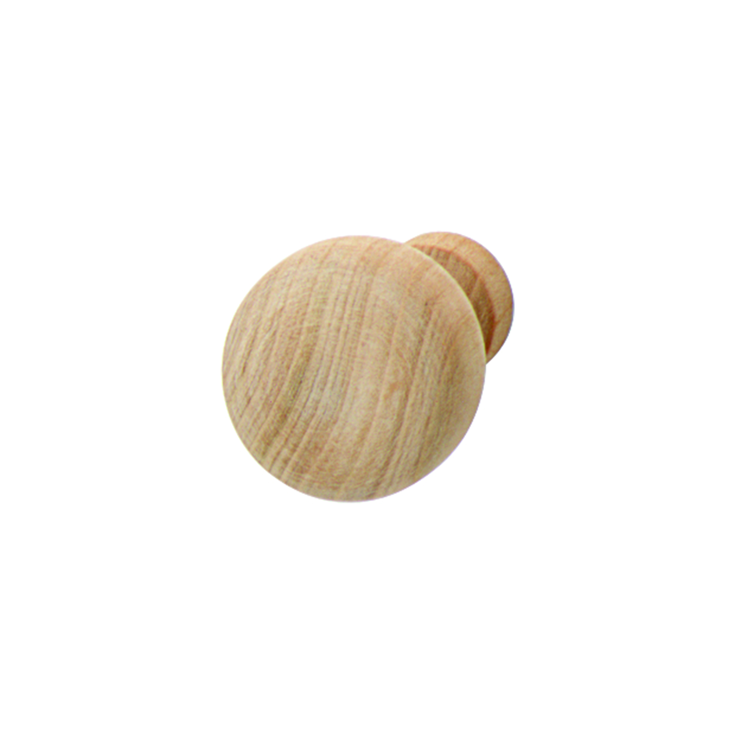 Cherry Wood Knob Unfinished 32mm