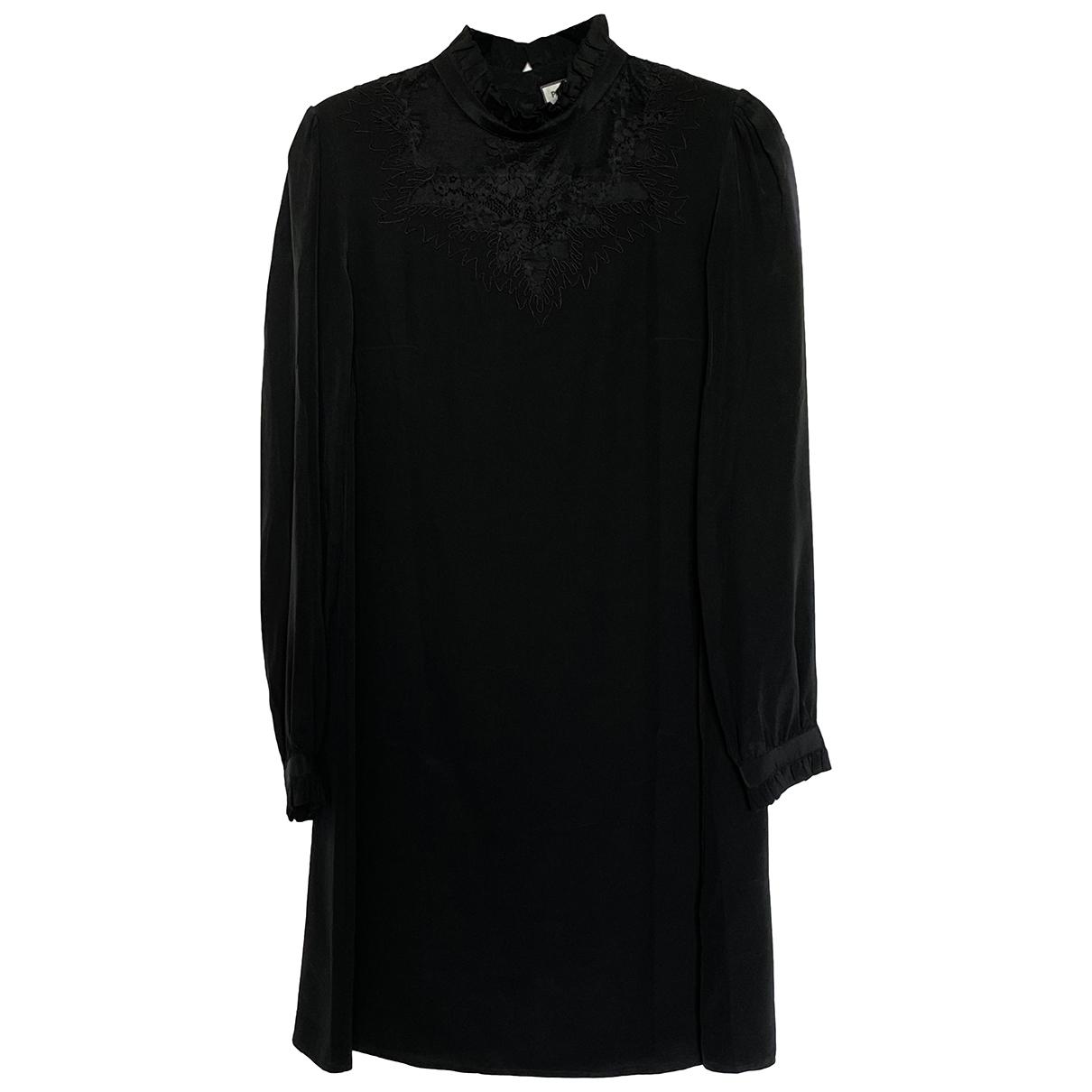 Paul & Joe \N Black Silk dress for Women 34 FR
