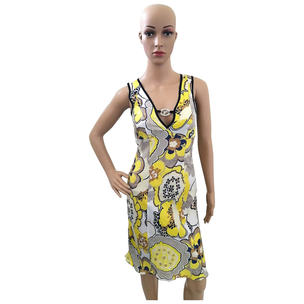 Trussardi Jeans \N Yellow dress for Women 38 IT