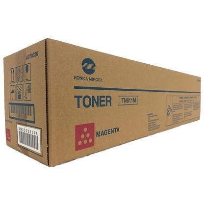 Konica-Minolta A070330 Original TN611M cartouche de toner originale magenta