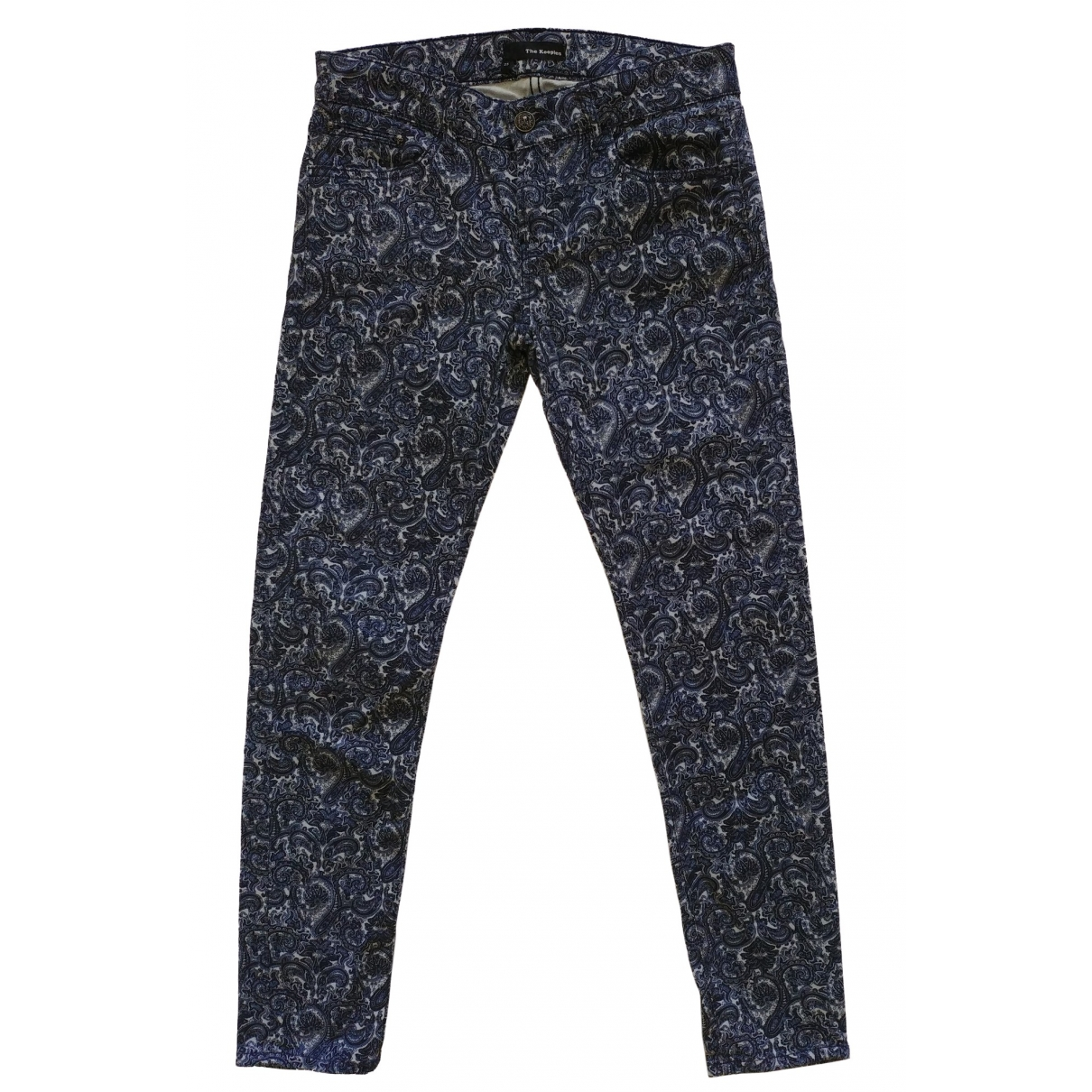 The Kooples \N Blue Cotton Jeans for Women 25 US
