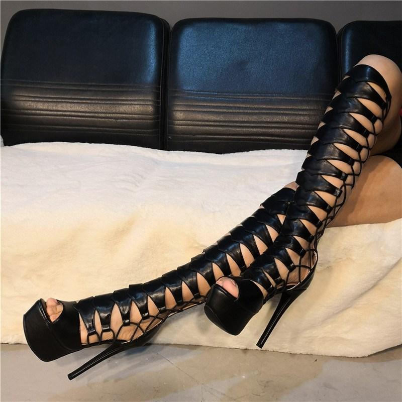Ericdress Round Toe Back Zip Platform Women's Knee High Boots