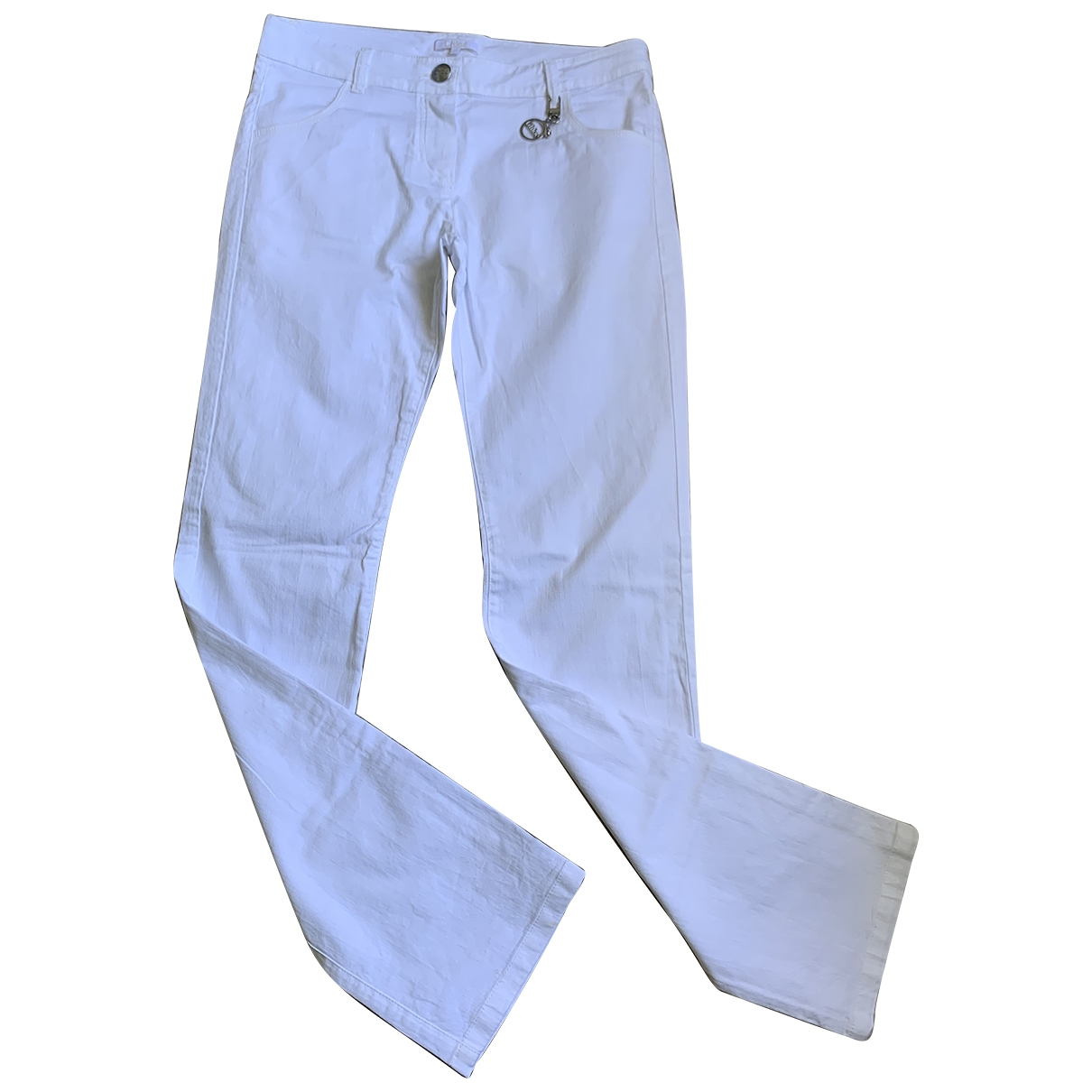 Chlo?? \N White Cotton Trousers for Kids 14 years - S FR