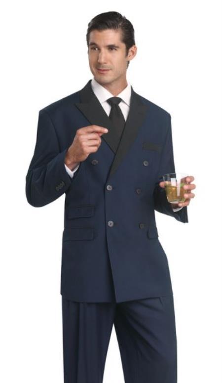 Double breasted Tuxedo Dinner Jacket Blazer Suit