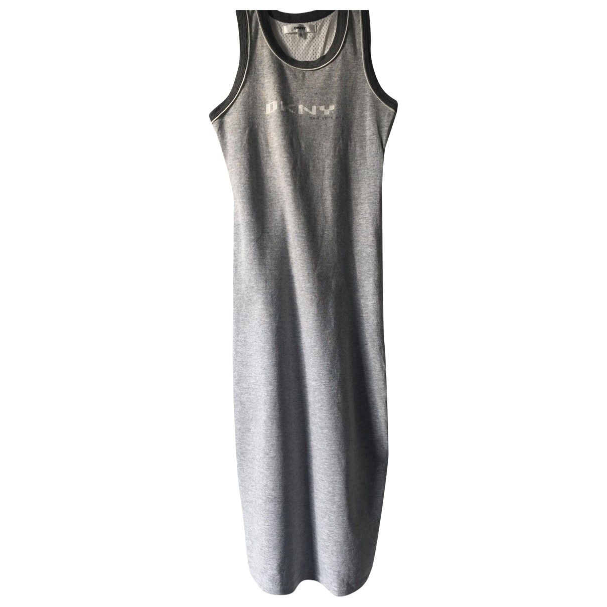 Dkny \N Grey Cotton - elasthane dress for Kids 8 years - until 50 inches UK
