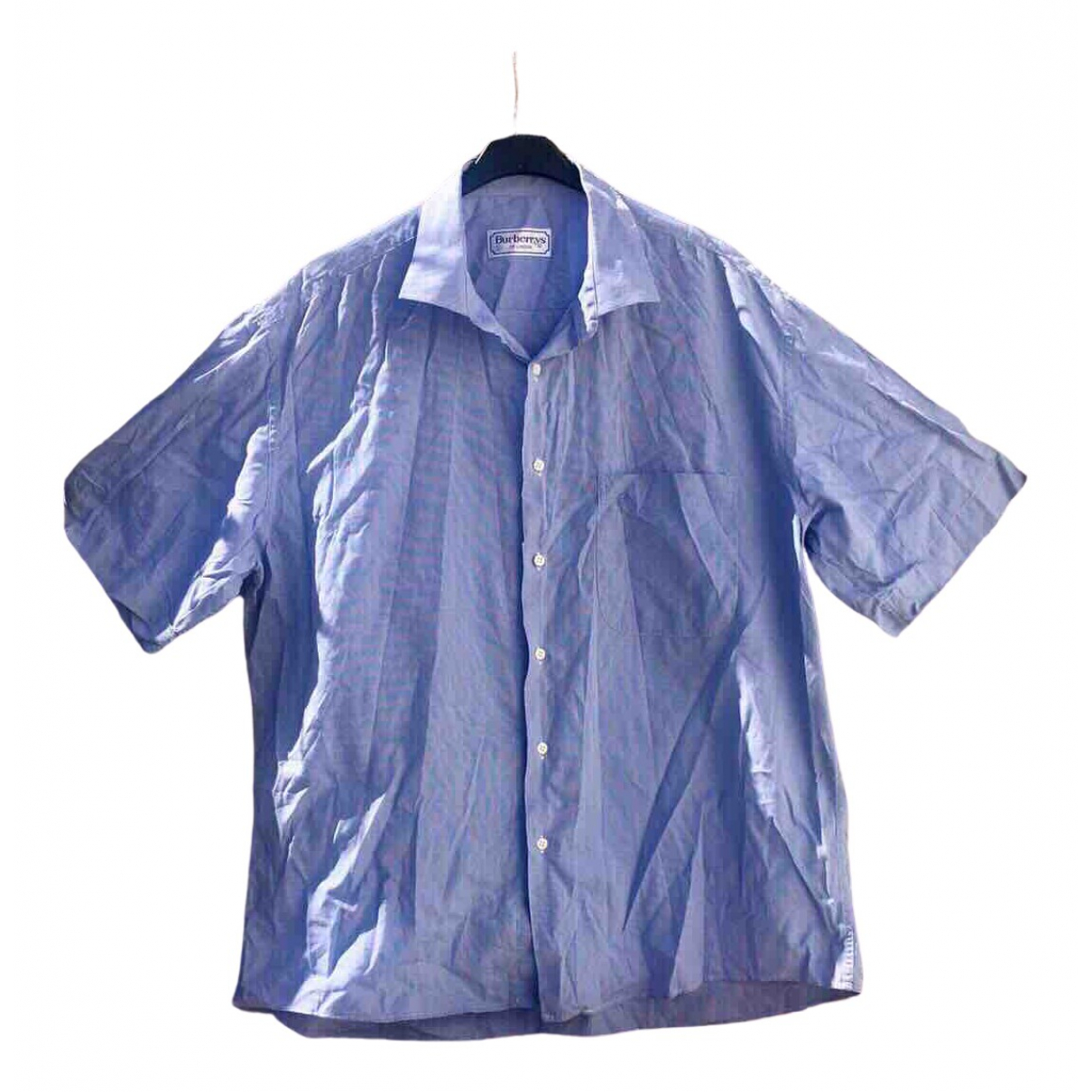 Burberry \N Blue Cotton Shirts for Men XXL International