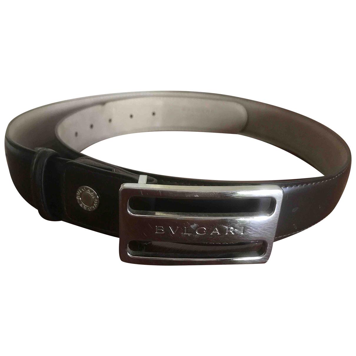 Bvlgari \N Brown Leather belt for Women M International