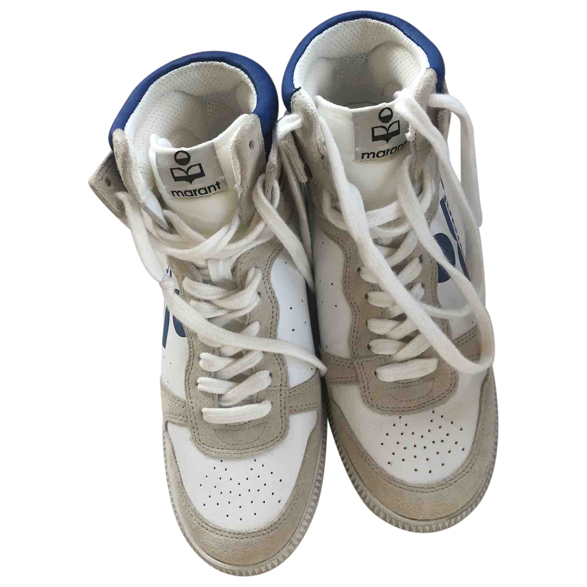 Isabel Marant \N White Leather Trainers for Women 38 EU