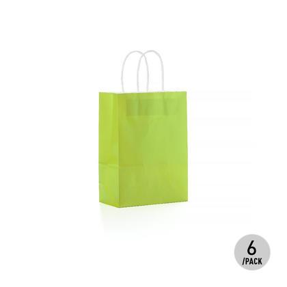 Vert Papier Kraft Sac - des Petits 6Pcs LivingBasics™