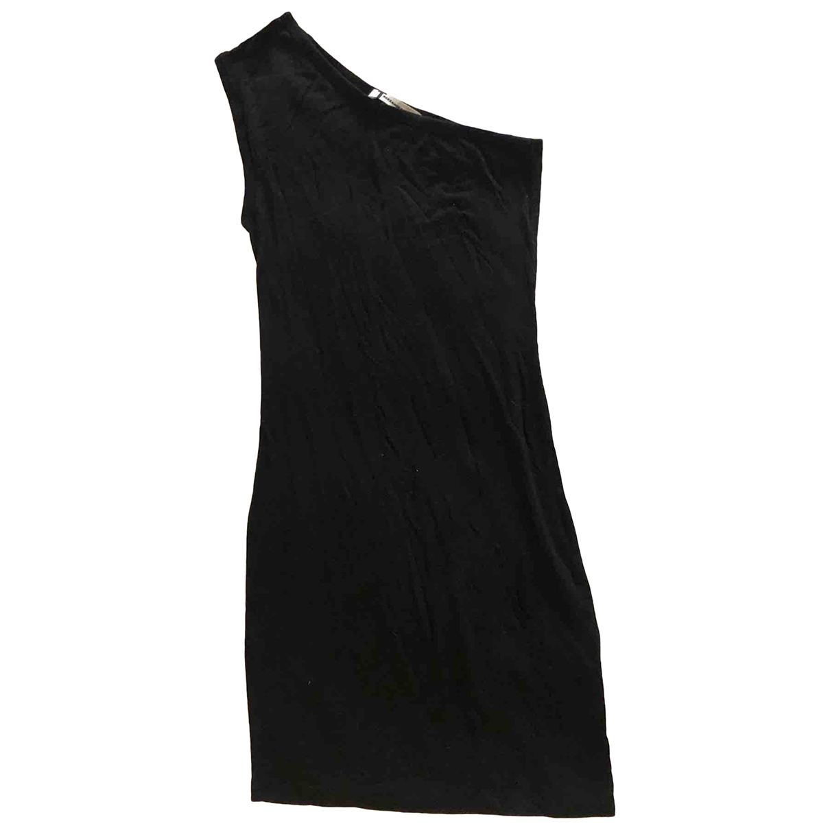 T By Alexander Wang \N Black Cotton - elasthane dress for Women XS International