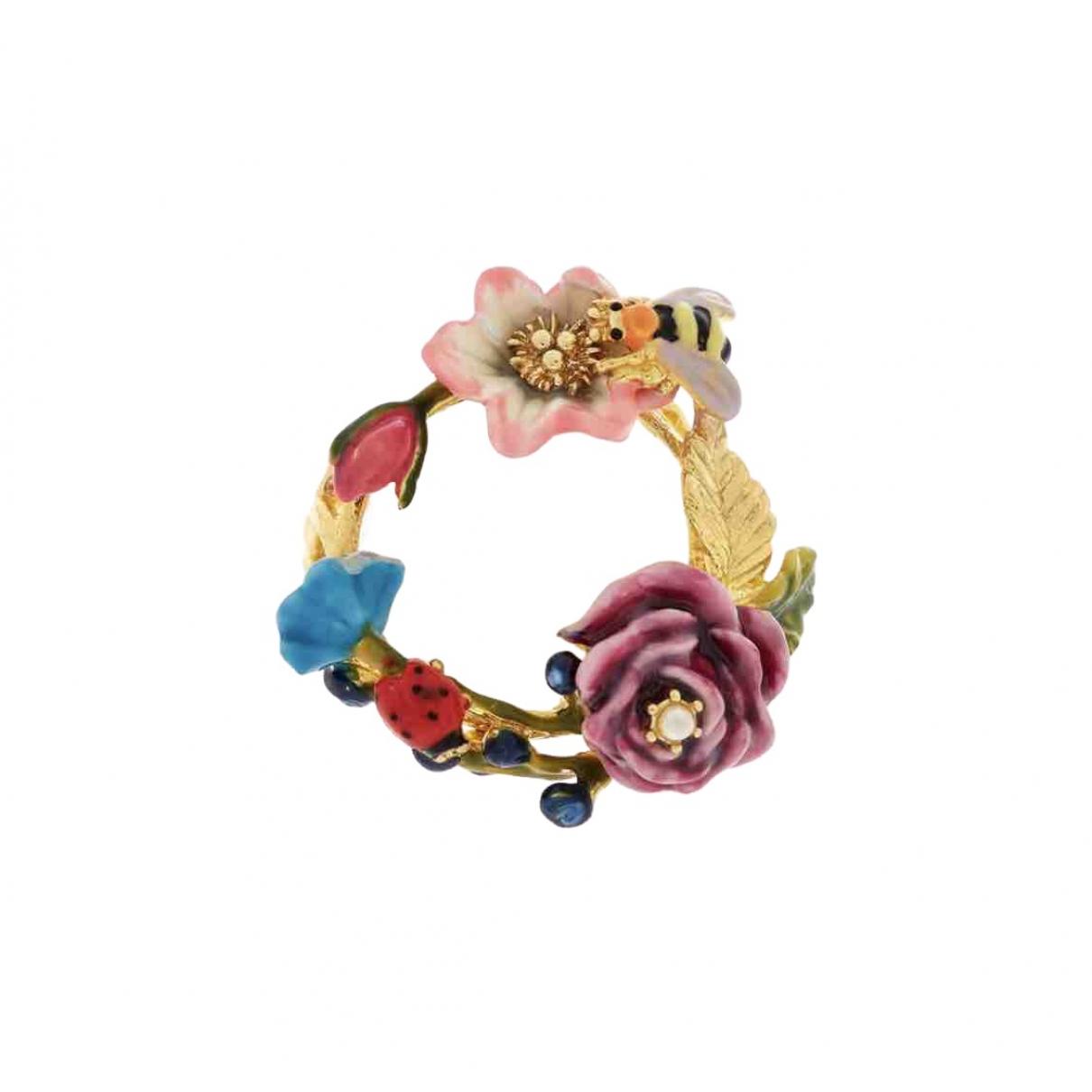 Les Néréides \N Multicolour Metal ring for Women K UK