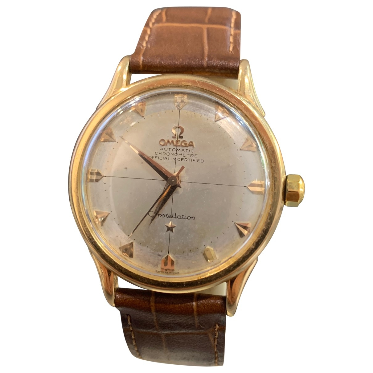 Omega Constellation Yellow gold watch for Men \N