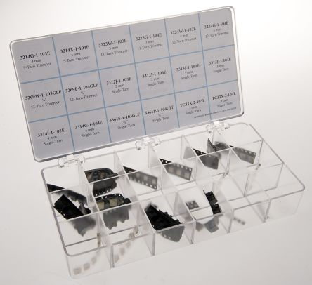 Bourns , H-815, SMT 18 Resistor Kit, with 9 pieces, 10 Ω → 2 MΩ