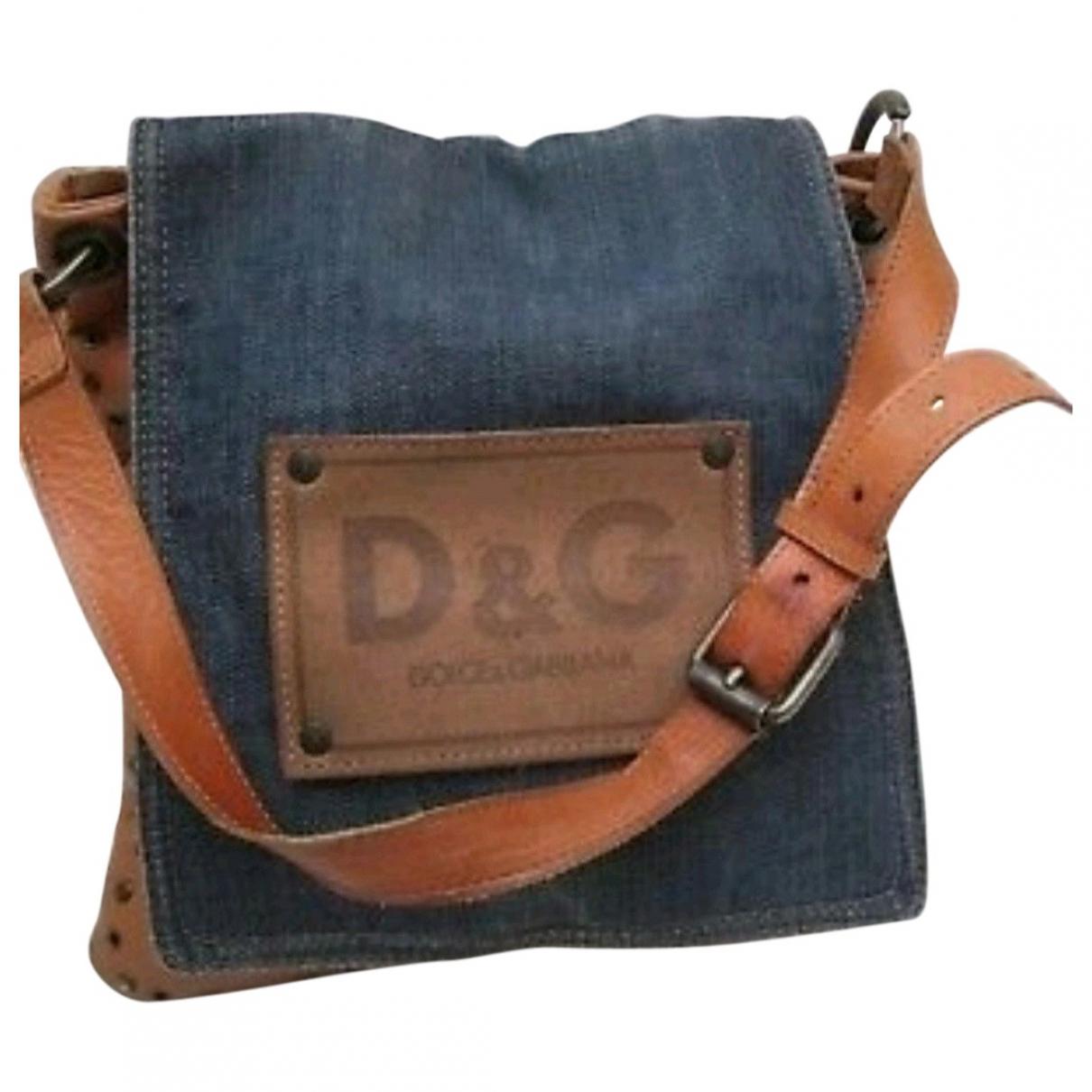 D&g \N Blue Denim - Jeans handbag for Women \N