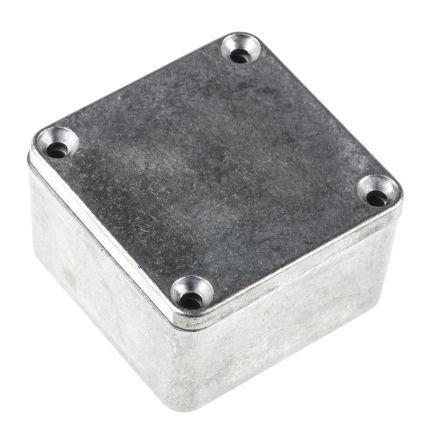 Hammond 1590, Die Cast Aluminium Enclosure, IP54, Shielded, 50.5 x 50.5 x 31mm