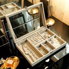 Multi-grid Jewelry Storage Box
