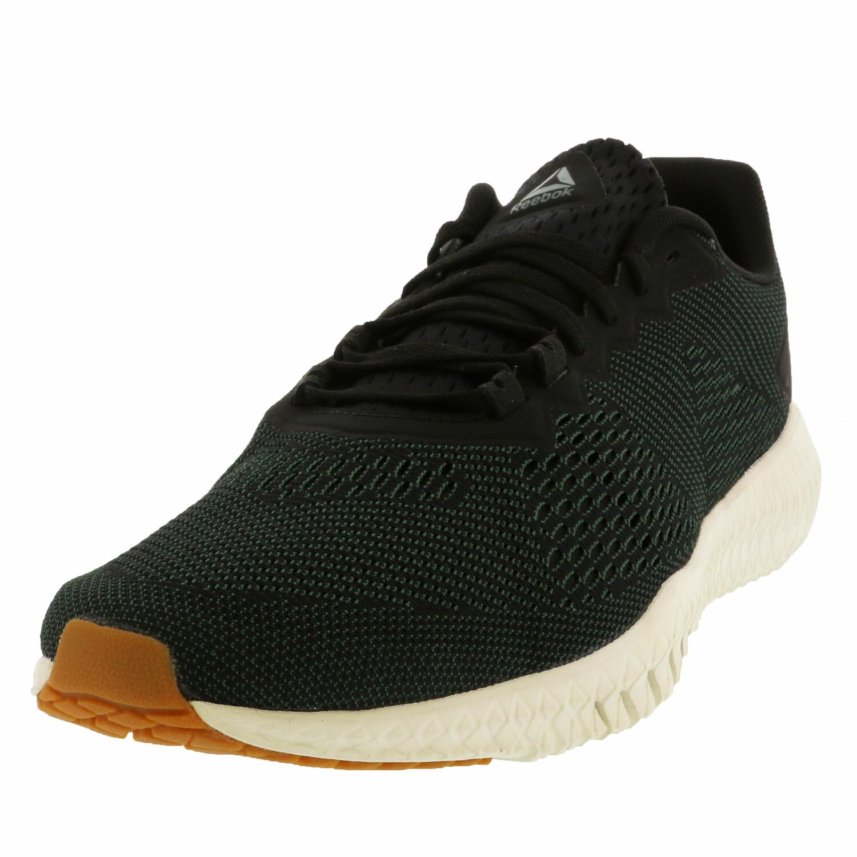 Reebok Men's Flexagon Green / Black Chalk Gum Ankle-High Training Shoes - 10M