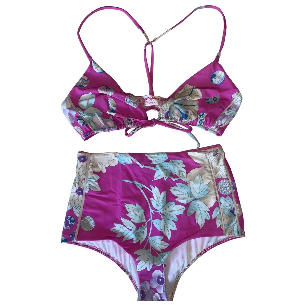 Leonard \N Pink Swimwear for Women 36 FR