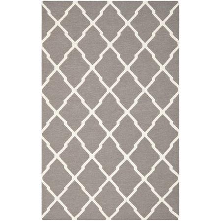 Safavieh Helena Hand Woven Flat Weave Area Rug, One Size , Gray
