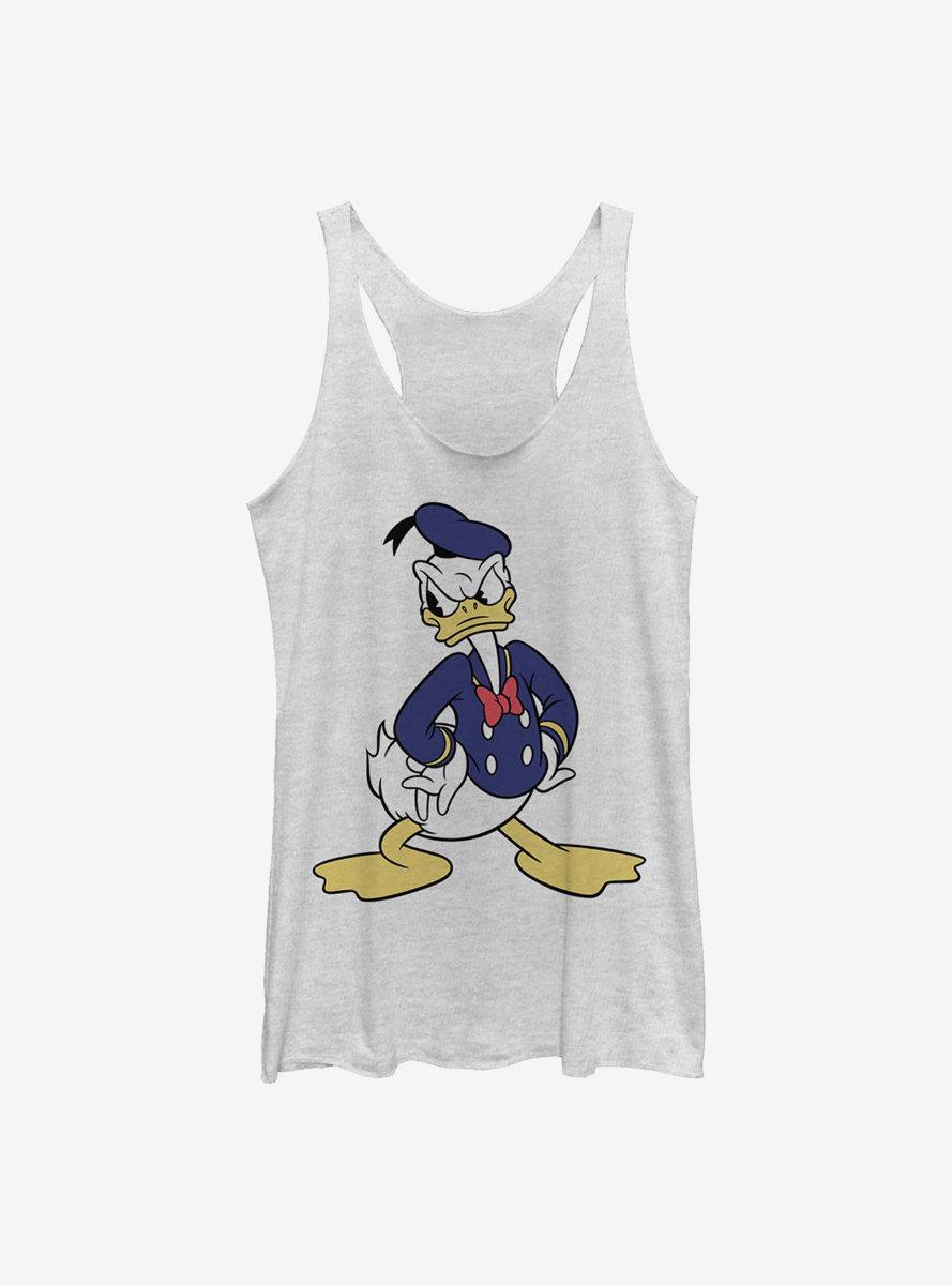 Disney Donald Duck Classic Vintage Donald Womens Tank Top