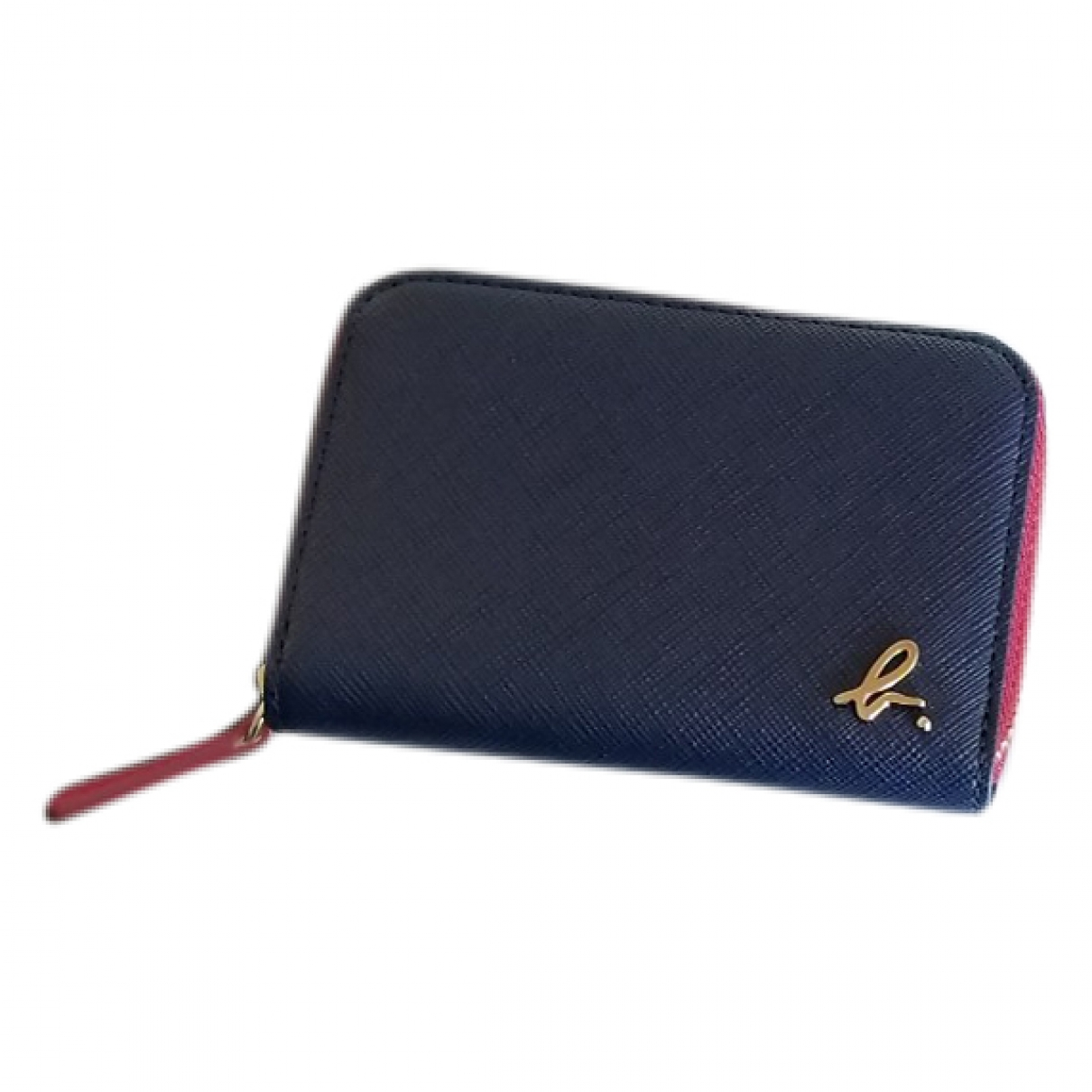 Agnès B. \N Blue Leather Purses, wallet & cases for Women \N