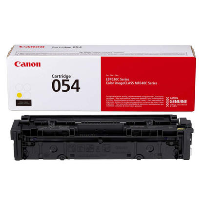 Canon 054 CRG 054Y 3021C001 Original Yellow Toner Cartridge
